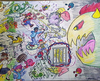 Drawn Up Image